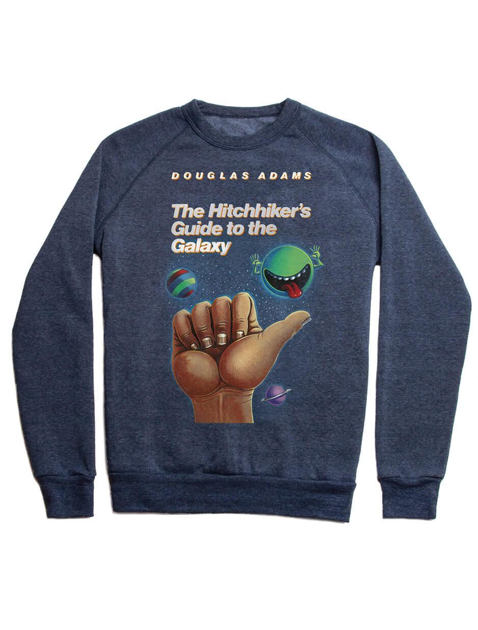 Hitchiker's Guide to the Galaxy Fleece Sweatshirt