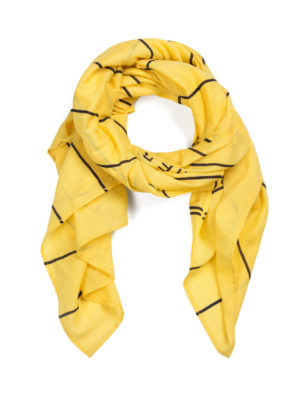 LIBRARY CARD SCARF 1