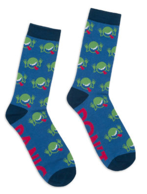 THE HITCHHIKER'S GUIDE THE THE GALAXY SOCKS