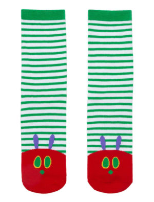 THE VERY HUNGRY CATERPILLAR SOCKS