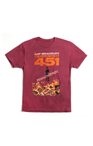 FAHRENHEIT 451 - RED (Men's T-Shirt)