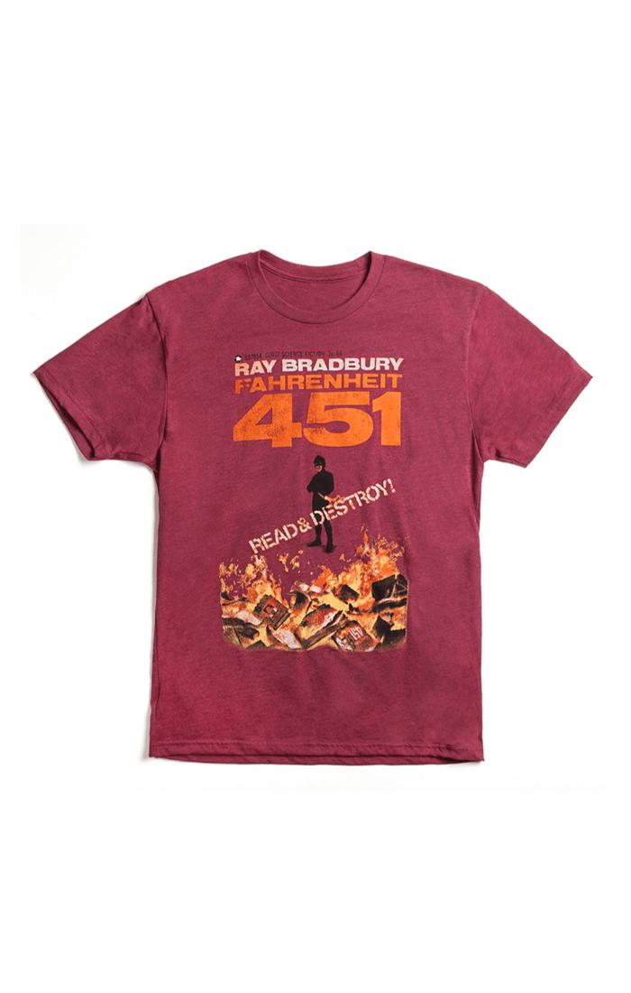 FAHRENHEIT 451 - RED (Men's T-Shirt)