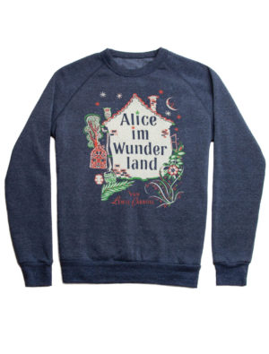 Alice In Wonderland (Fleece Sweatshirt) German Edition