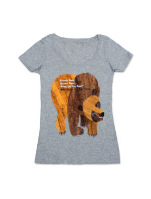 BROWN BEAR, BROWN BEAR, WHAT DO YOU SEE? (Women's T-Shirt)