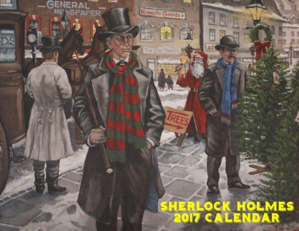 Sherlock Holmes Calendar 2017