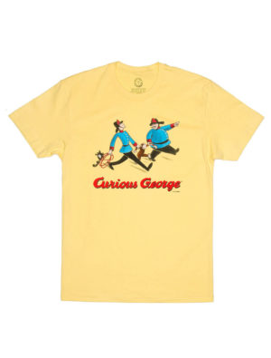CURIOUS GEORGE (YELLOW) (Men's T-Shirt)