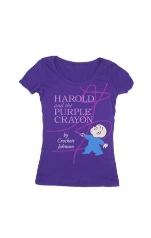 HAROLD AND THE PURPLE CRAYON (Women's T-Shirt)
