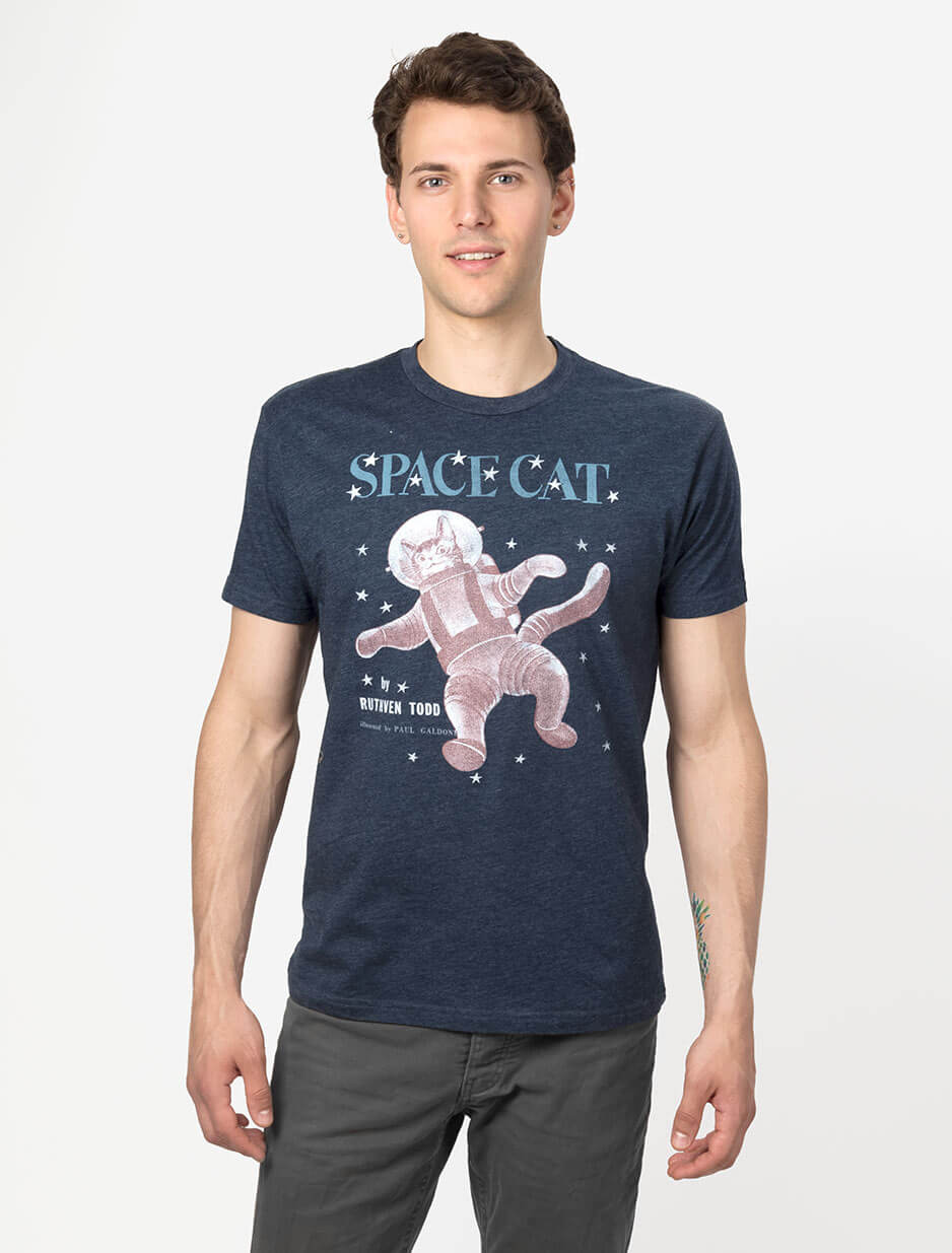 SPACE CAT Men's T-Shirt