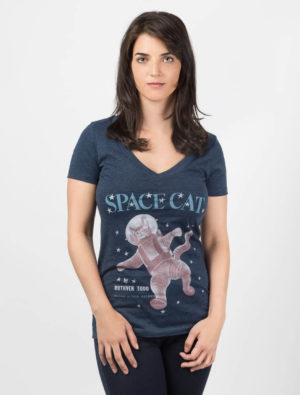 SPACE CAT Women's T-Shirt