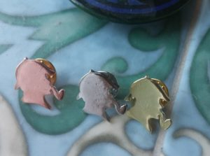 Set of Three Sherlock Holmes Lapel Pins