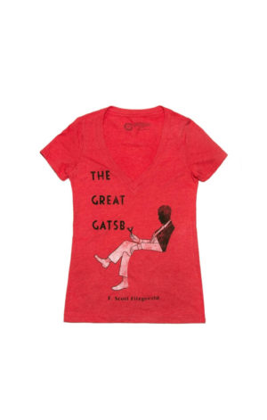 THE GREAT GATSBY- LEWIS ED - RED (Women's T-Shirt)