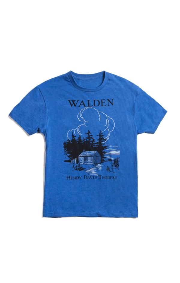 WALDEN - BLUE (Men's T-Shirt)