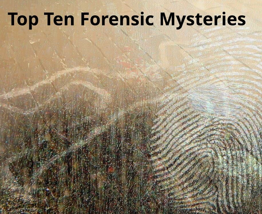 The Ten Best Forensic Thrillers Ever?