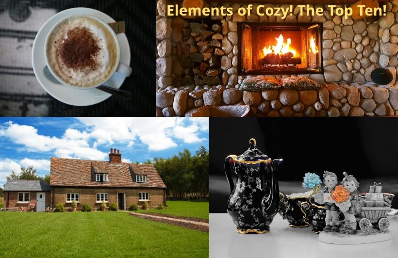 The Top Ten Cozy Mysteries...