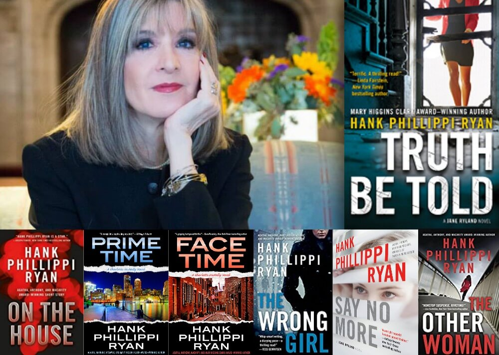 Exclusive interview with Hank Phillippi Ryan