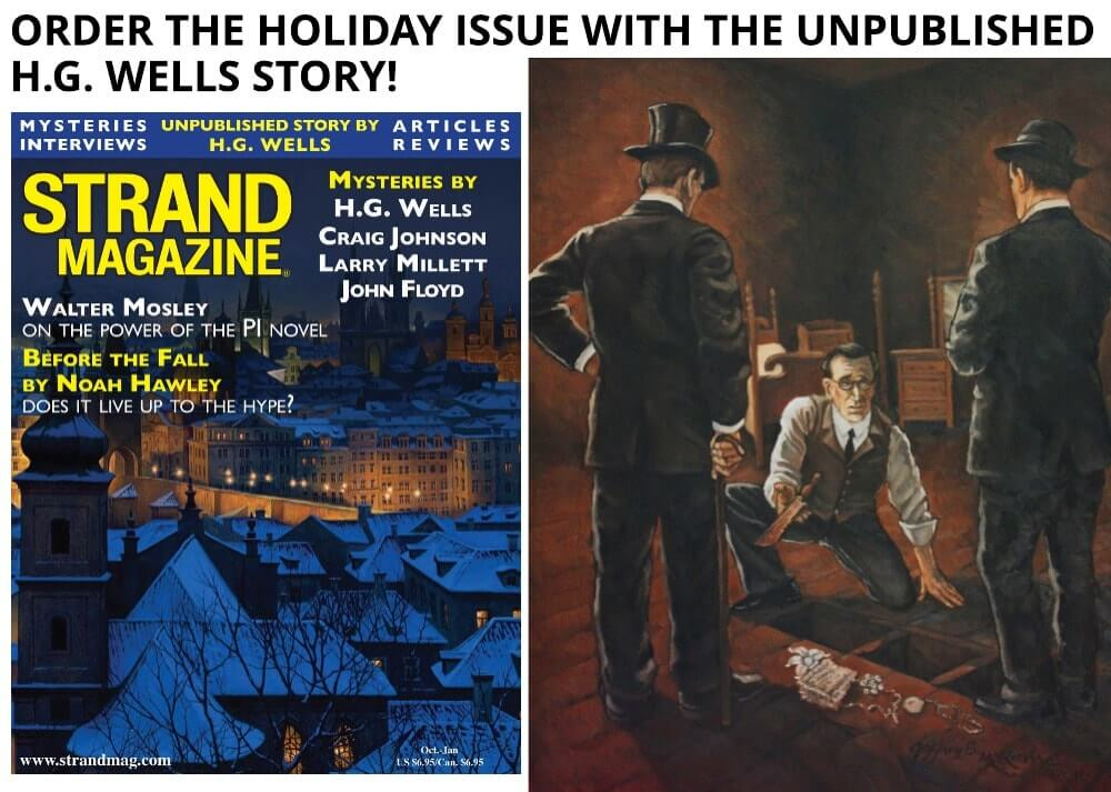 Unpublished H.G. Wells story in issue 50 of the Strand Mystery magazine