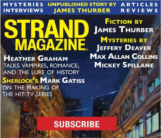 subscribe to the Strand Mystery Magazine