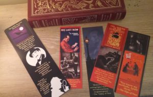 Complete Set of Sherlock Holmes bookmarks! Five mystery themed bookmarks...