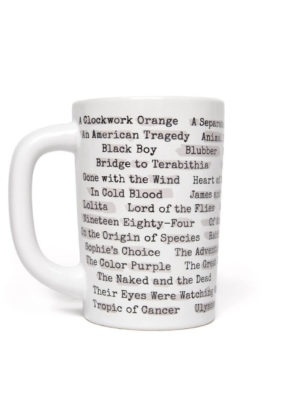 BANNED BOOKS HEAT REACTIVE MUG