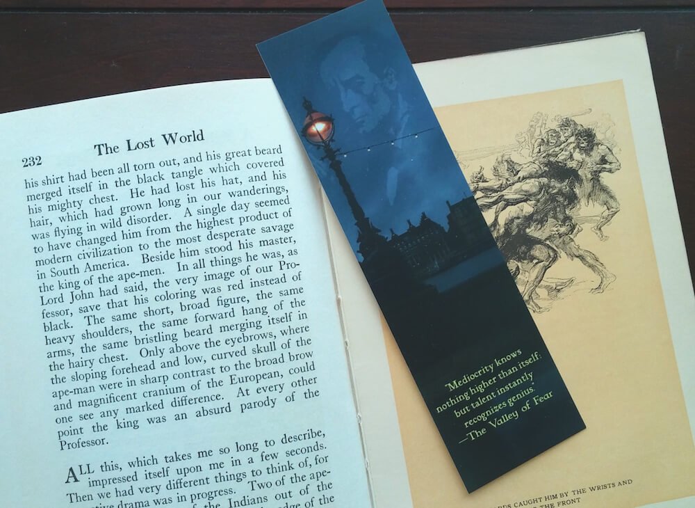 Sherlock Holmes Quote Bookmark