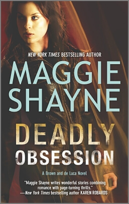 Deadly Obsession by Maggie Shayne (PAPERBACK)