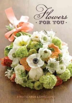 Flowers for You Notecards & Envelopes