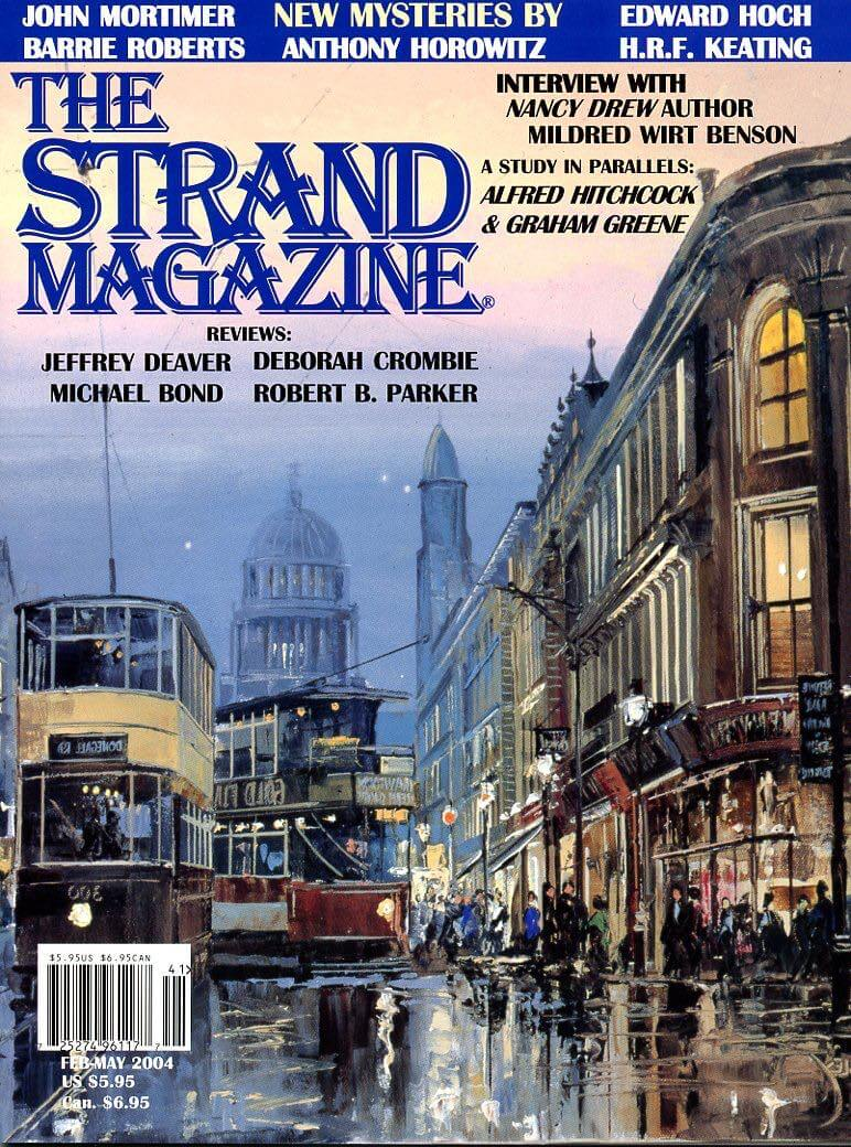 Strand Magazine Issue 12: Short stories by John Mortimer, Edward Hoch, Anthony Horowitz and interviews with Mildred Wirt Benson