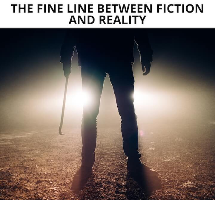 FINE LINE BETWEEN FICTION AND REALITY