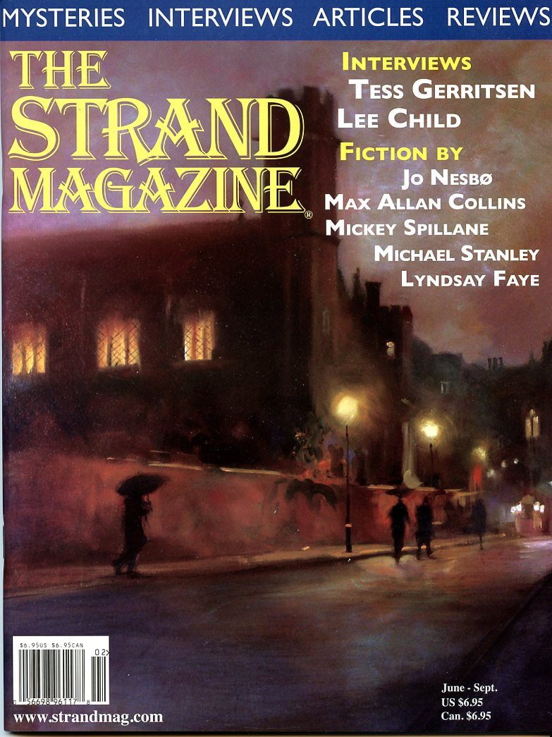 Issue 31: Fiction by Jo Nesbo, Graham Greene, Max Allan Collins, and interviews with Lee Child and Tess Gerritsen
