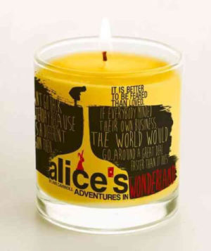 Alice's Adventures in Wonderland Candle, Vanilla