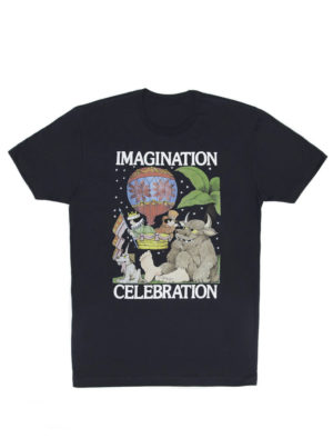 IMAGINATION CELEBRATION (SENDAK) Men's T-Shirt