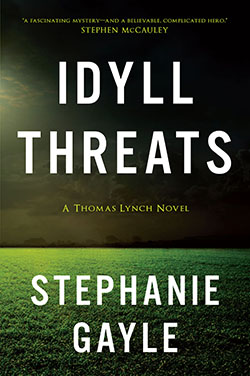 """Clean-cut Thomas Lynch is police chief of Idyll, Connecticut, where serious crimes can be counted on one hand—until Cecilia North is found murdered on the town's golf course. By chance, Chief Lynch met her mere hours before she was killed. The case should be a slam dunk. But there's a problem. If he tells his detectives about meeting the victim, he'll reveal his greatest secret—he's gay. So Lynch works angles of the case on his own. Without the aid of fellow detectives, he is forced to seek help from unlikely allies—a Goth teen and a UFO-obsessed conspiracy theorist. Meanwhile, he must contend with pressure from the mayor to solve the crime before the town's biggest tourist event opens, all the while coping with the suspicions of his men, casual homophobia, and difficult memories of his partner's recent death. During the investigation, Lynch realizes that small town Idyll isn't safe, especially for a man with secrets that threaten the thing that he loves most—his job. """"In Idyll Threats, Stephanie Gayle has crafted a fascinating mystery and—even more engaging for this reader—a believable, complicated hero. Thomas Lynch is a flawed, sympathetic man struggling with the benefits and risks of coming to terms with himself. I was rooting for him the whole way."""" —STEPHEN McCAULEY, author of The Object of My Affection and Insignificant Others """"Stephanie Gayle strings a tightwire of psycho-sexual tension, then gives it a radical twist in this smart, riveting tale of small-town murder and homophobia."""" —CRAIG FAUSTUS BUCK, author of Go Down Hard """"Lynch is a deeply compelling character…. Readers will want to see how the next two decades treat this intriguingly complex cop, should this fine crime debut launch a series."""" —BOOKLIST, STARRED REVIEW"""