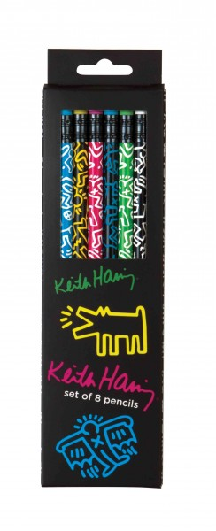 Keith Haring Pencil Set