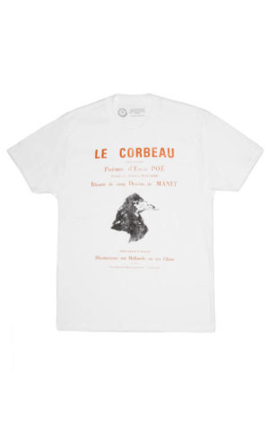 LE CORBEAU: THE RAVEN (FRENCH EDITION) Unisex T-Shirt