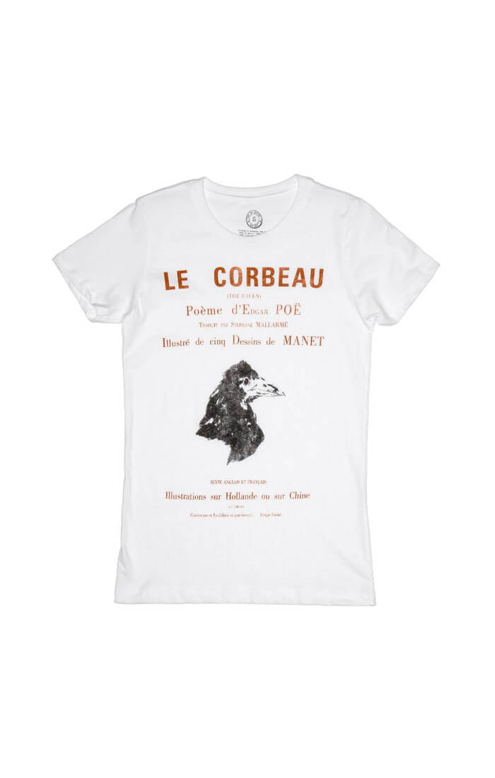 LE CORBEAU: THE RAVEN (FRENCH EDITION) Women's T-Shirt