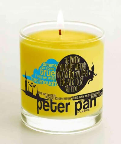 Peter Pan Candle