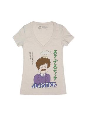 SLAPSTICK (JAPANESE EDITION) (V-NECK) Women's T-shirt
