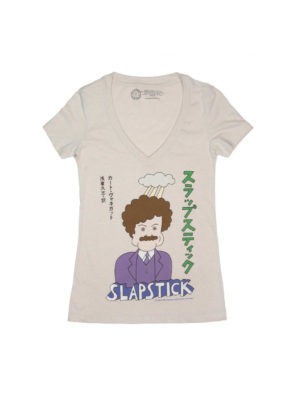 SLAPSTICK (JAPANESE EDITION) (V-NECK) Women's T-shirt