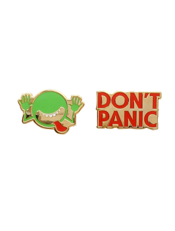 THE HITCHHIKER'S GUIDE TO THE GALAXY Lapel Pin Set