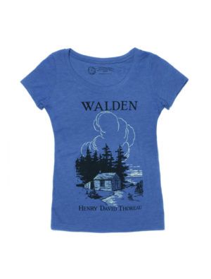 WALDEN (BLUE SCOOP) Women's T-Shirt
