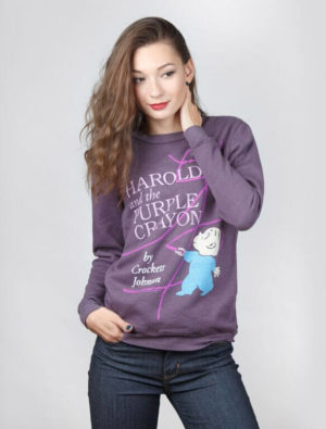 harold and the purple crayon Fleece (Sweatshirt)