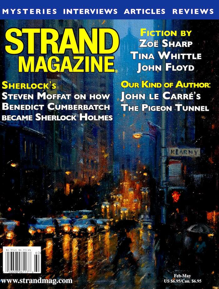 Strand Magazine Issue 51: Exclusive interview with Sherlock's Steven Moffat