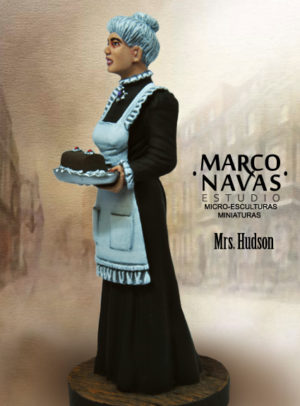 Mrs. Hudson Figurine