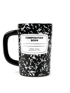Library Composition Notebook Mug