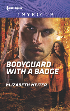 Bodyguard with a Badge by Elizabeth Heiter (Paperback)