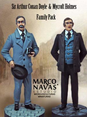 Mycroft and ACD Figurine Set