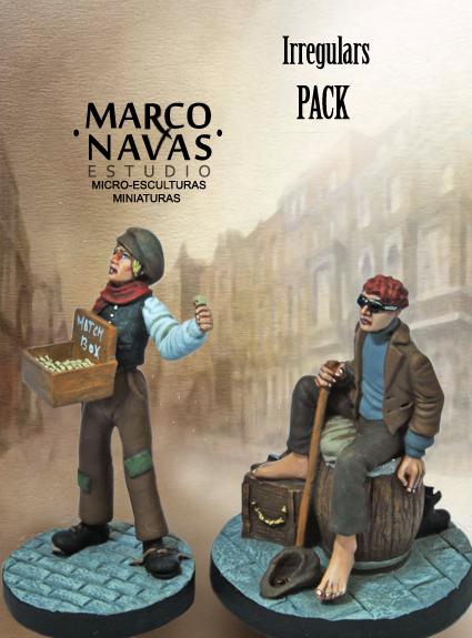 Baker Street Irregulars Figurine Set