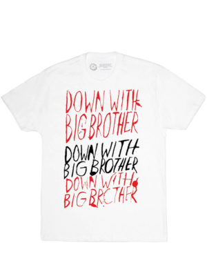 1984-Down with Big Brother T-Shirt (Men's)