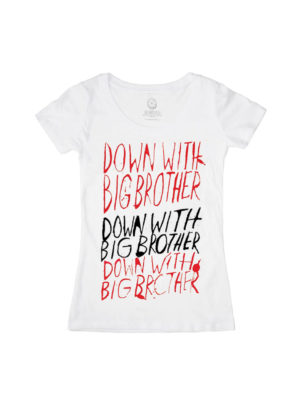 1984-Down with Big Brother T-Shirt (Women's)