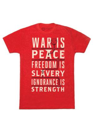 1984: WAR IS PEACE (Mens) T-Shirt